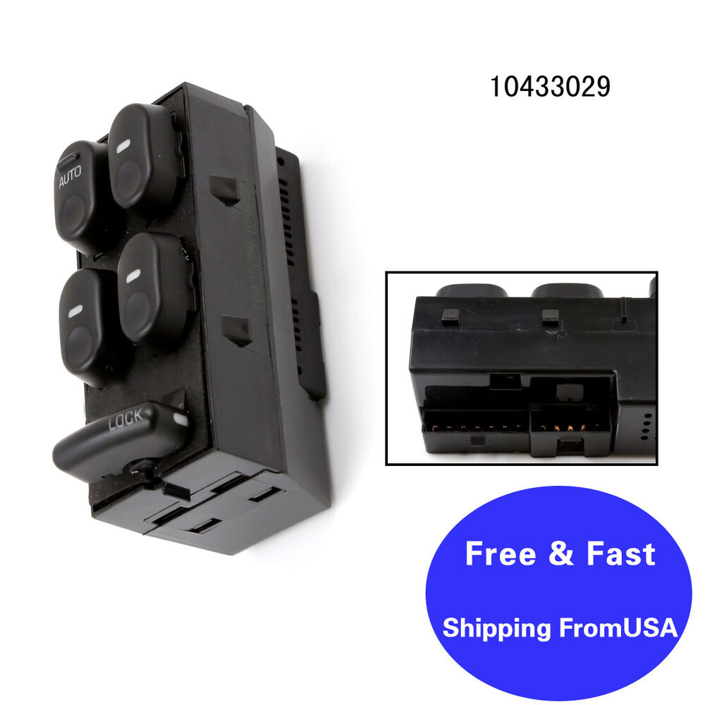 99 Buick Regal Gs: New Master Power Window Lock Switch For Buick Regal GS