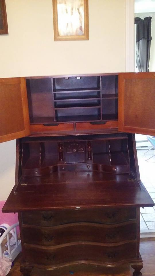 Antique Secretary Desk Ebay