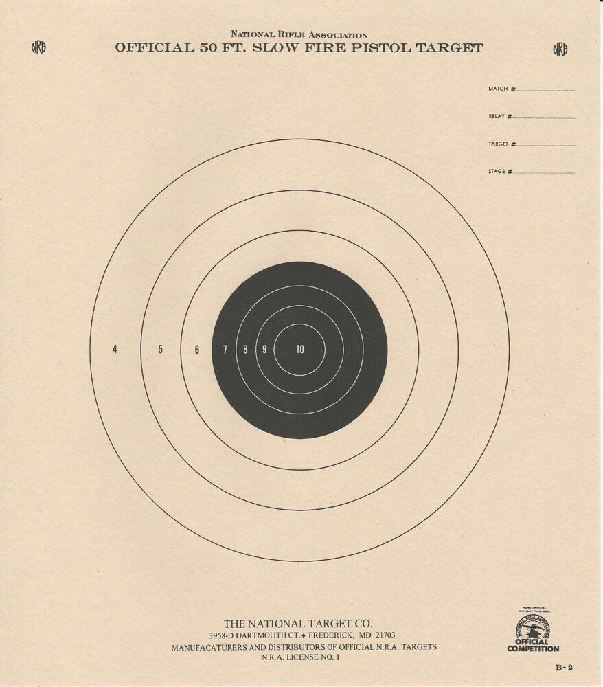 It's just a photo of Magic Printable Nra Targets