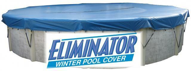 15 X 30 Oval Eliminator Xtreme Above Ground Swimming Pool Winter Cover 10 Year Ebay