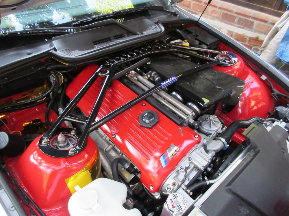 Mason Eng Bmw E36 S54 M3 F Strut Bar Track Design In