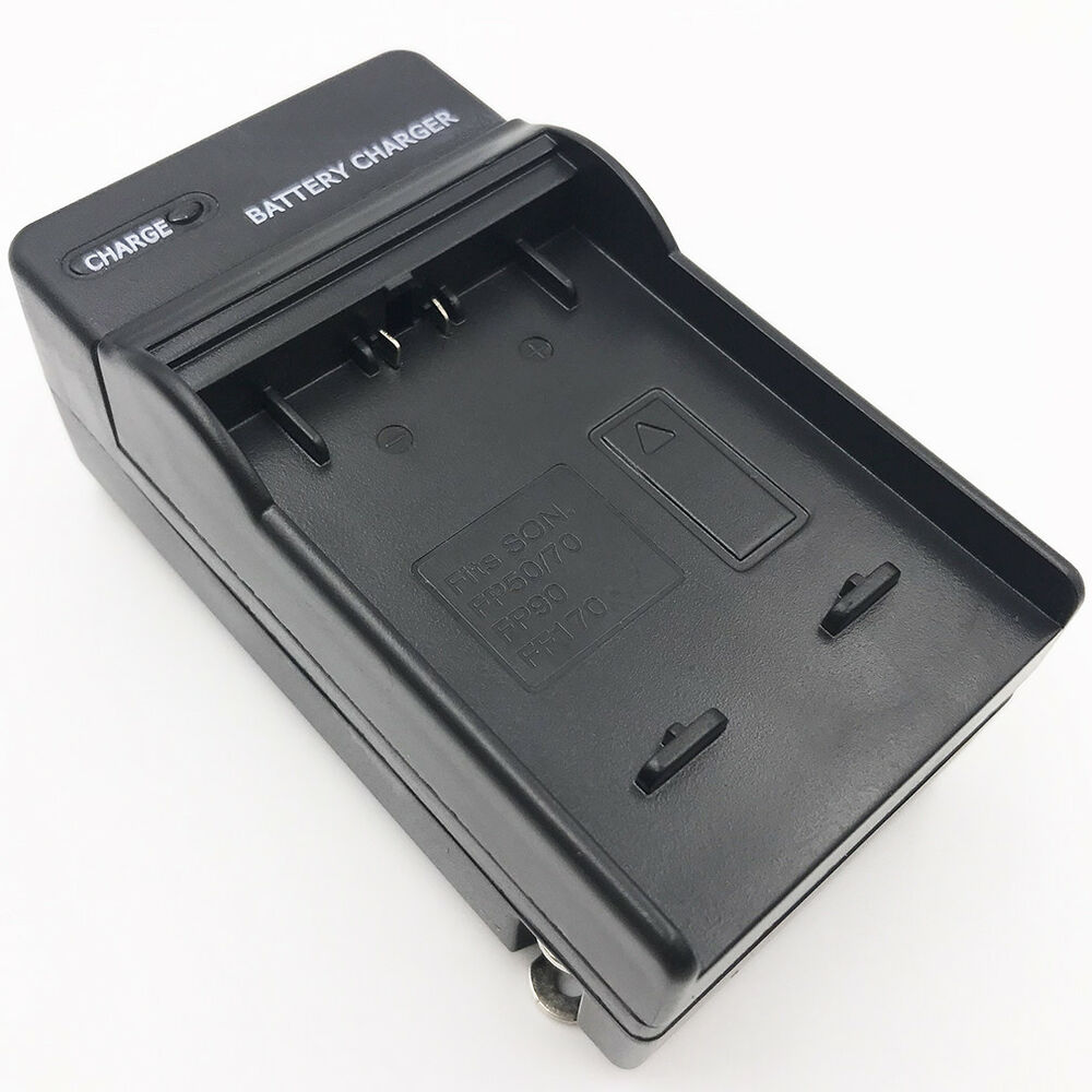 Battery Charger For Sony Np Fv50 Np Fv30 Np Fv70 Ac Vqp10