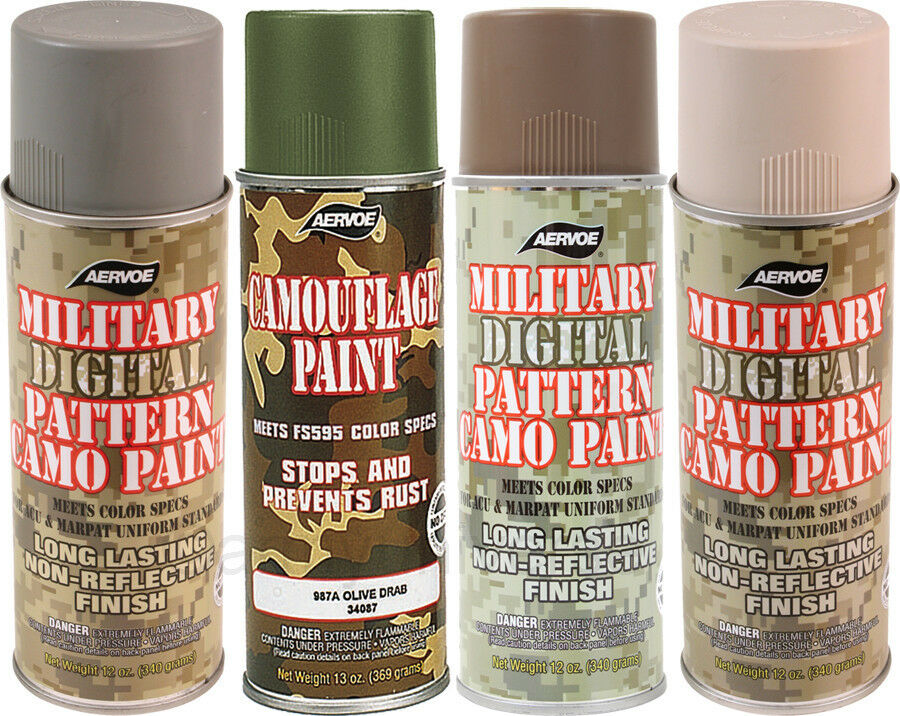 camouflage 12 oz aerosol can spray paint can ebay - Camo Paint Colors