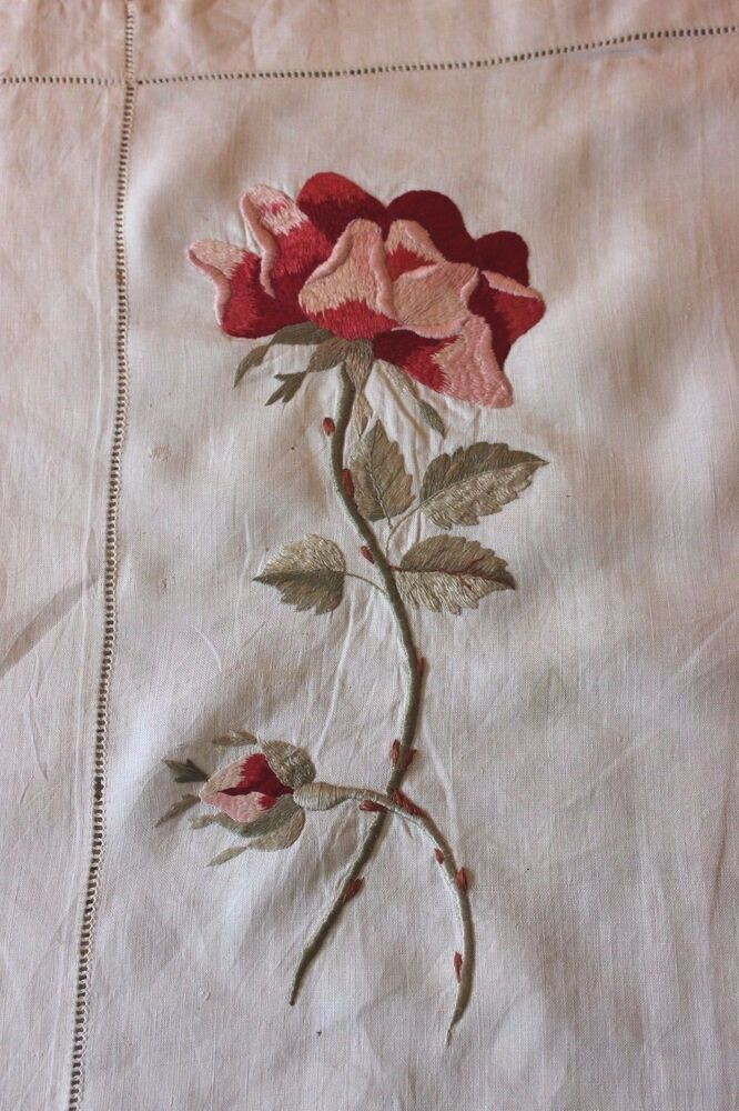 silk embroidered linen te9385 - photo #5