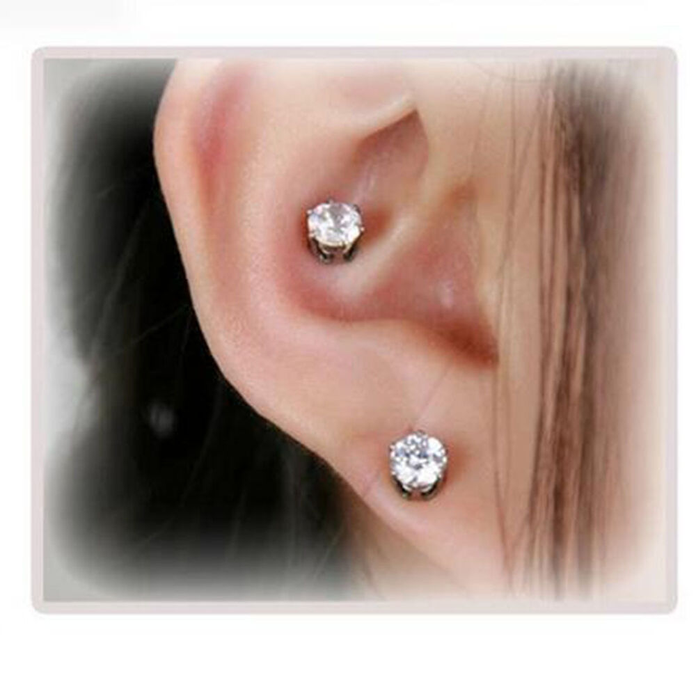 Earrings Women Magnetic Slim Ear Stickers Weight Loss ...