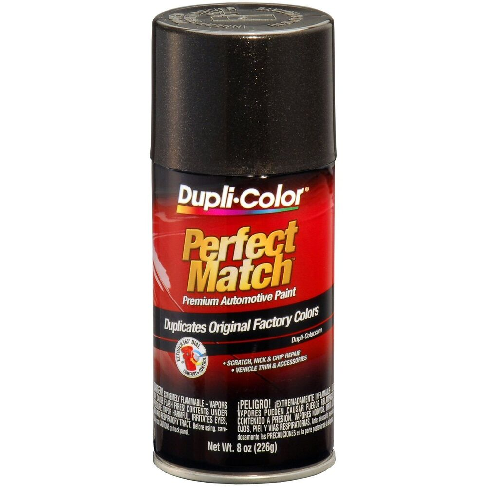 Duplicolor Bun0090 Perfect Match Black Metallic 8 Oz Aerosol Spray Paint Ebay