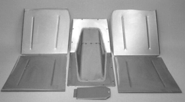 1934 Plymouth Floor Pans Home Made Floor Pans 1934