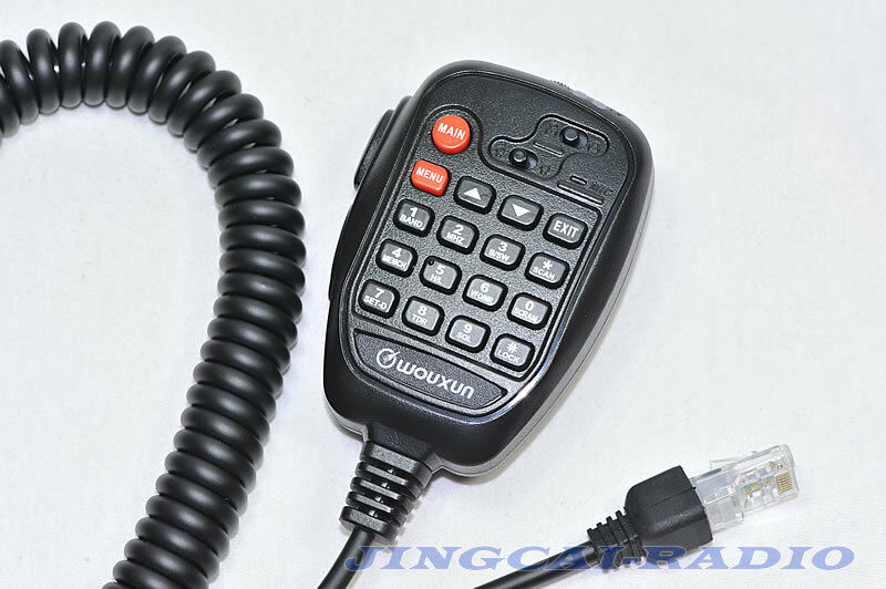 Car Microphone: WOUXUN KG-UV10A Mic Microphone For Car Mobile Radio KG