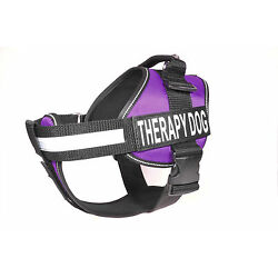 Dogline Unimax Service Dog Harness Vest Removable Chest Plate & Patches