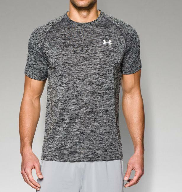 Under armour men 39 s ua tech short sleeve t shirt 1228539 for Under armour i will shirt