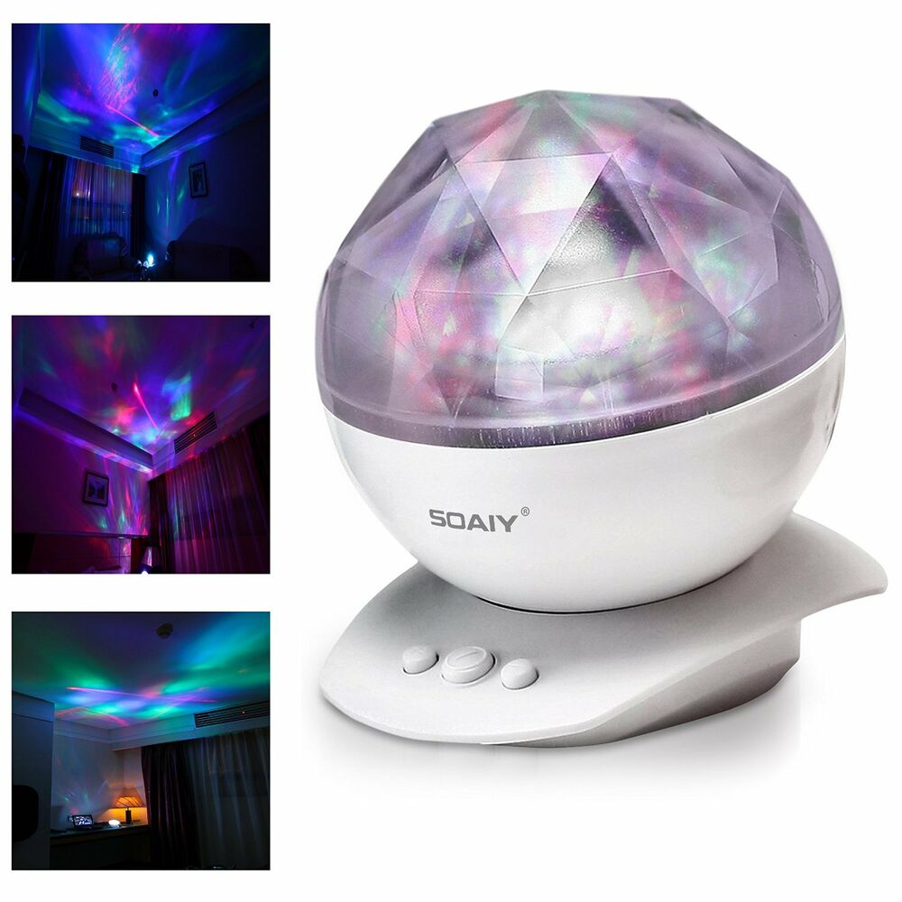 Romantic Colorful Led Night Light Aurora Projector Cosmos Sky Lamp Diy
