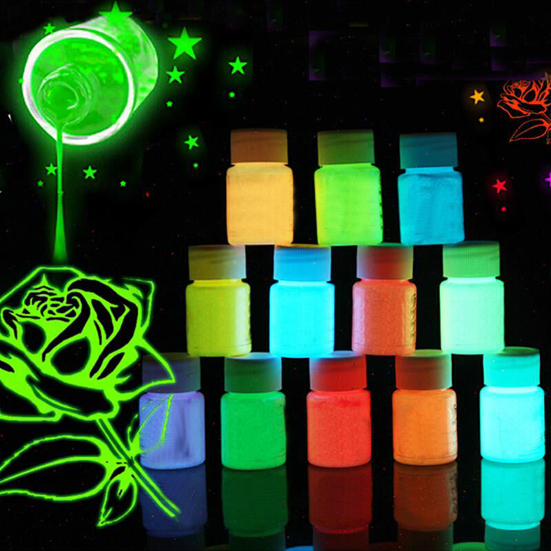 25g box leuchtende fl ssigkeit malerei graffiti neon farbe party k rper wand ebay. Black Bedroom Furniture Sets. Home Design Ideas
