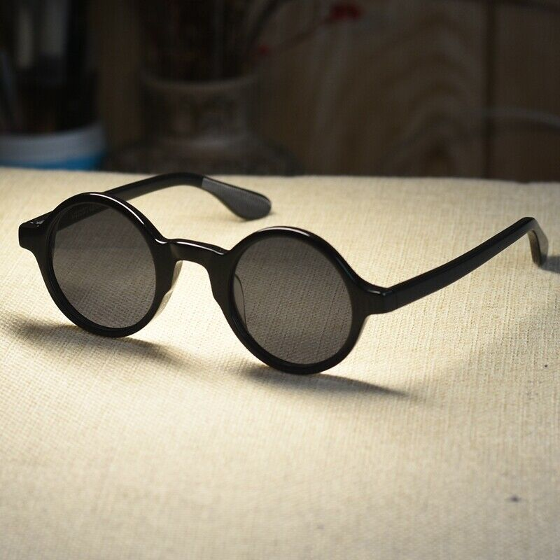 Vintage Round Johnny Depp Sunglasses Artists Suniess