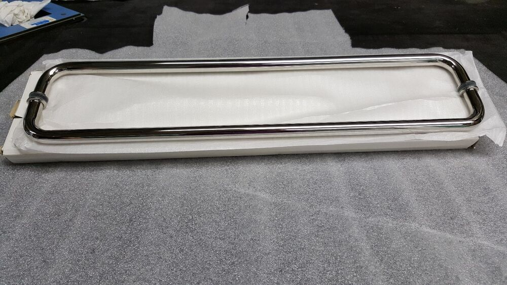 Shower Door Parts Back To Back Euro Towel 24 Quot Chrome Towel
