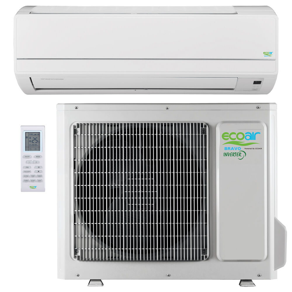 Wall Mounted Heating And Cooling Units : Inverter split air conditioning wall mounted unit