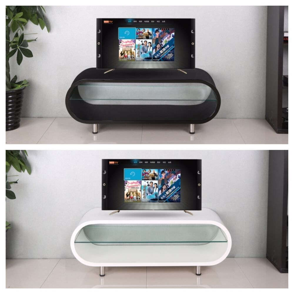 Oval Tv Stand Ebay # Table Tv En Coin