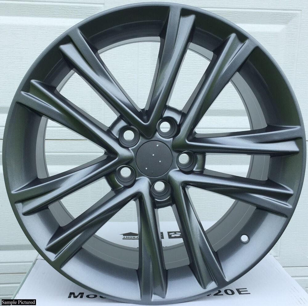 "For Lexus Sc 430 Sc430 2005 2006 2007 2008 2009 2010: 4 New 18"" Wheels Rims For 2002 2003 2004 2005 2006 2007"