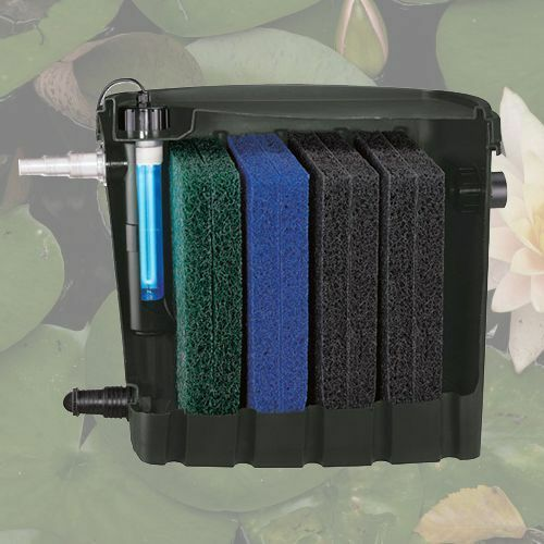 New fish koi pond external filter with a 9 watt uv for External fish pond filters