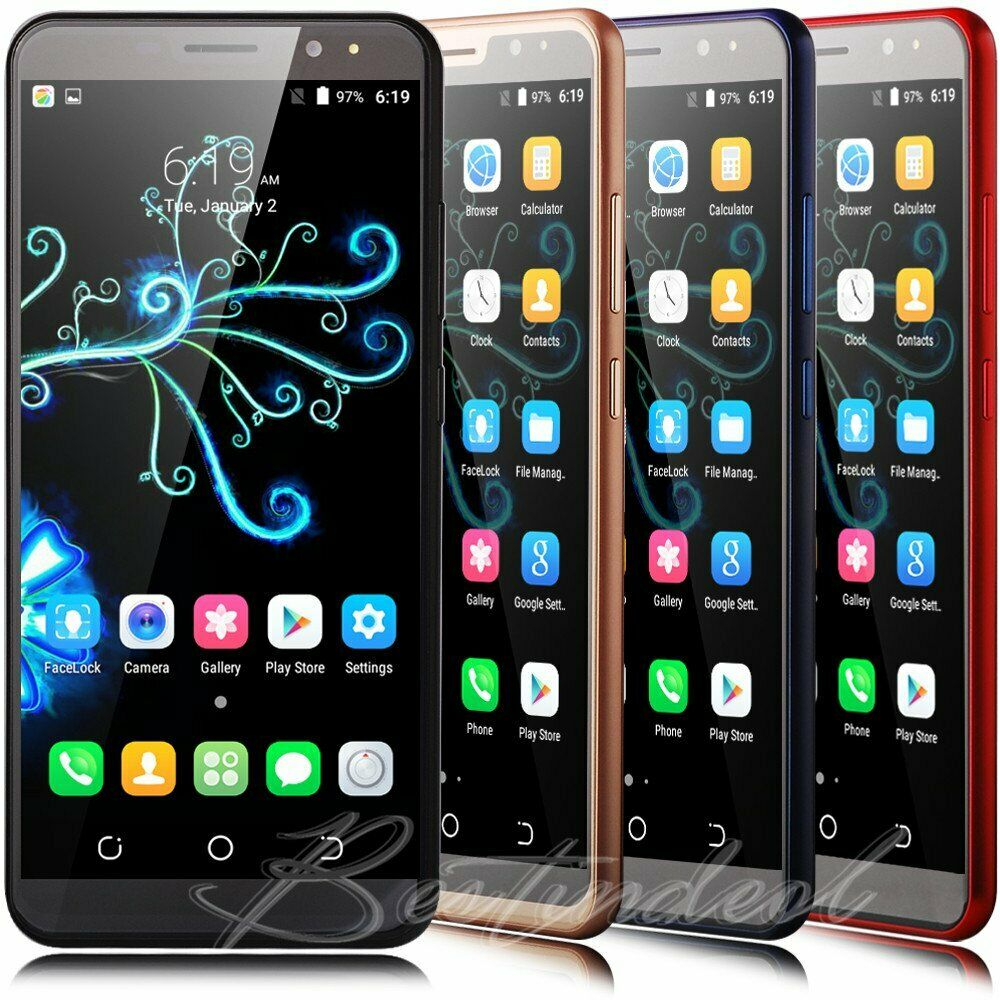5 5 unlocked android cell phone quad core sim 3g gps t mobile at t smartphone ebay. Black Bedroom Furniture Sets. Home Design Ideas