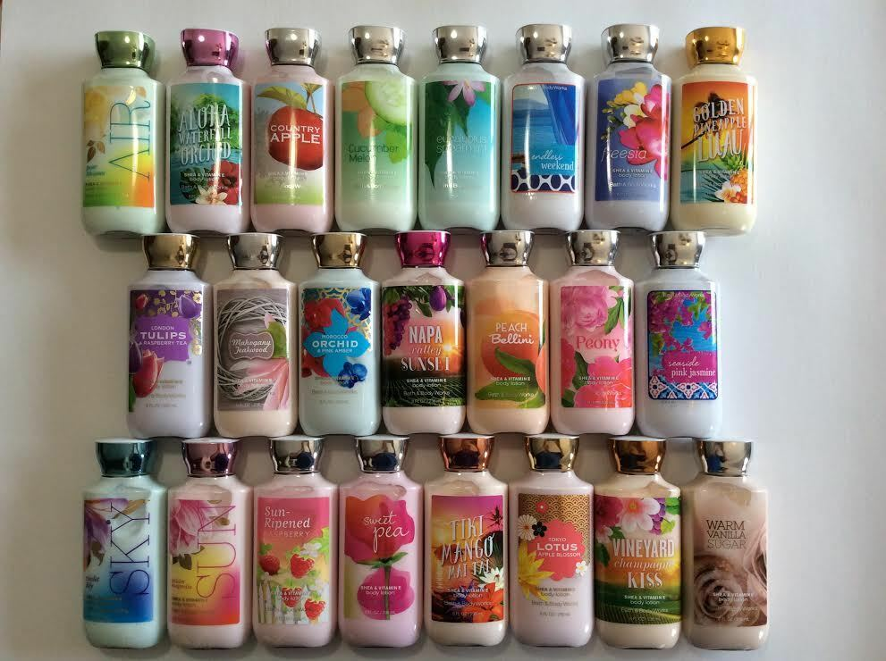 Bath and bod works fine fragrance body lotion 8 fl oz for Bath and body works scents best seller