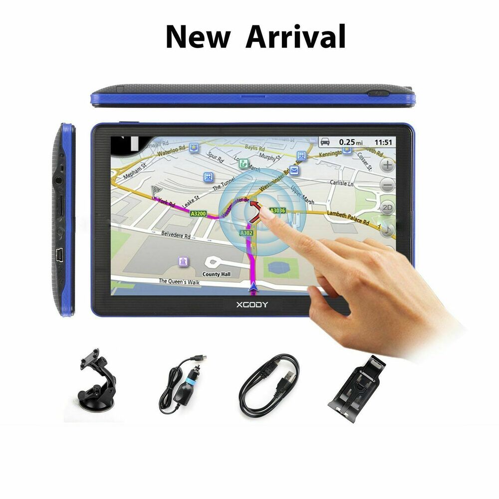 7 gps voiture syst me de navigaion europe carte mise jour gratuit 8go 256ram ebay. Black Bedroom Furniture Sets. Home Design Ideas