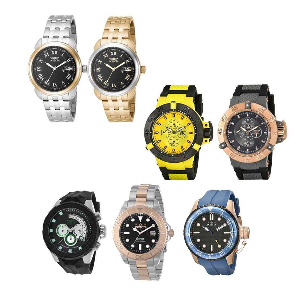 new invicta s wrist watches ebay