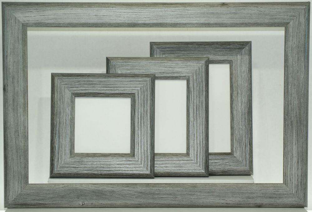 Cpf Square Driftwood Picture Frame W Glass From 4x4 Thru