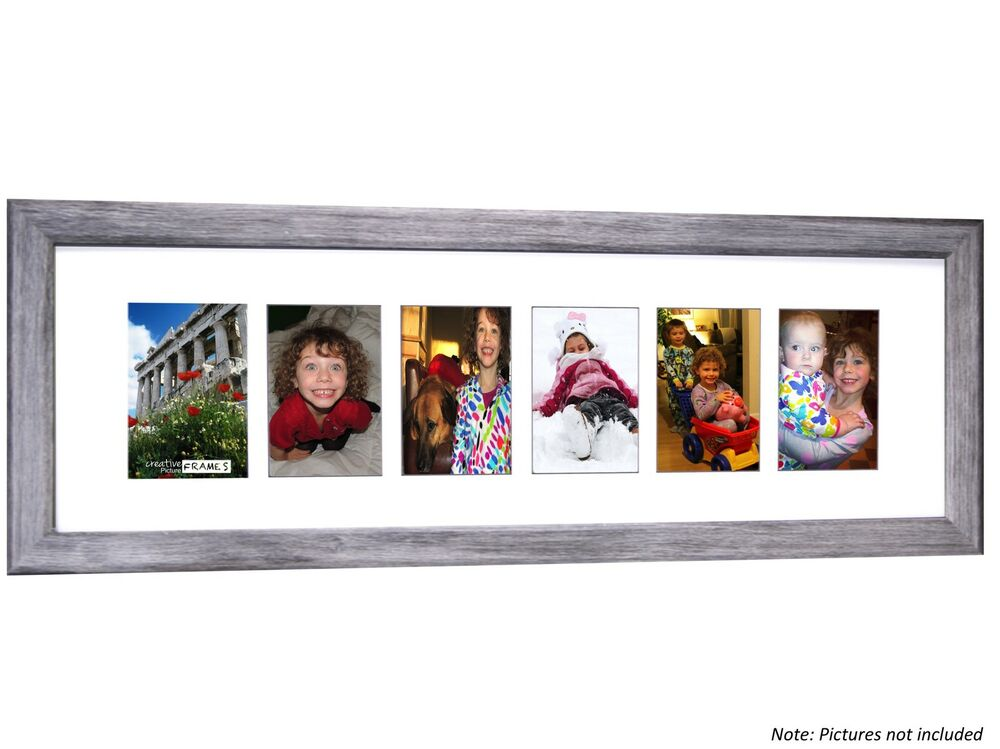 Cpf 6 Opening Glass Face Driftwood Picture Frame Holds