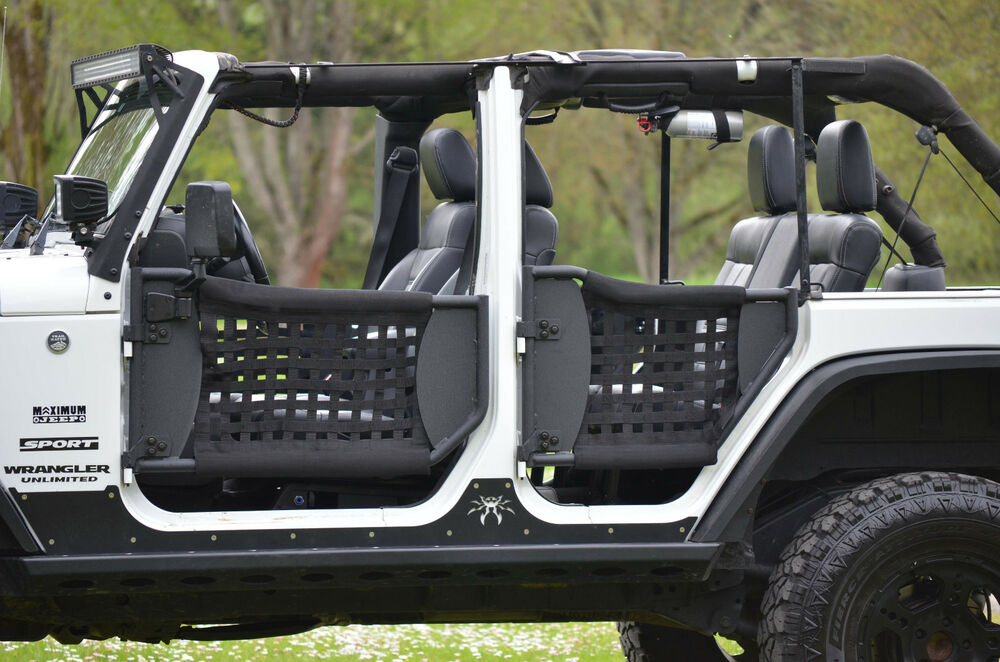 Jeep Wrangler 2006 Parts Maximum Jeep Trail Doors w/ Nylon Web 07-17 Jeep Wrangler ...