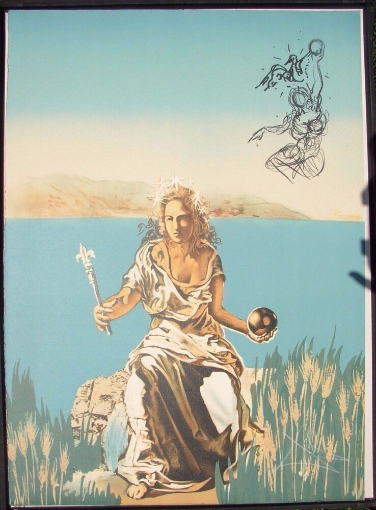 Salvador Dali - Authentic Lithograph - Gala - Signed | eBay