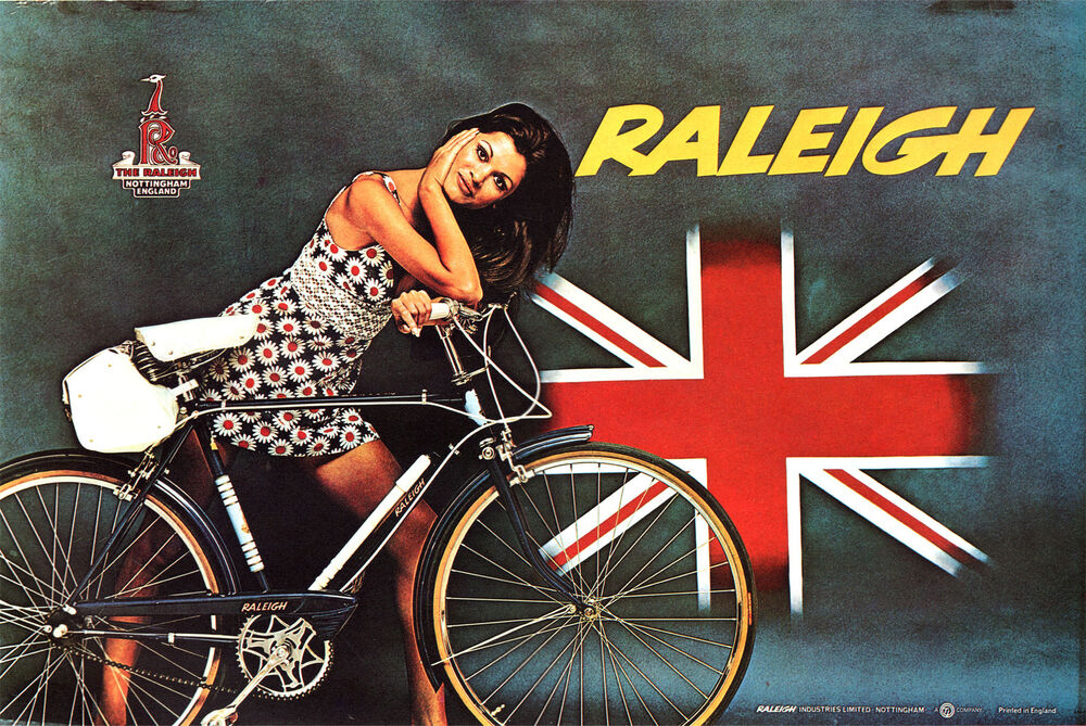 Vintage Raleigh Bicycle Advertisement 70 S 20 Quot X14