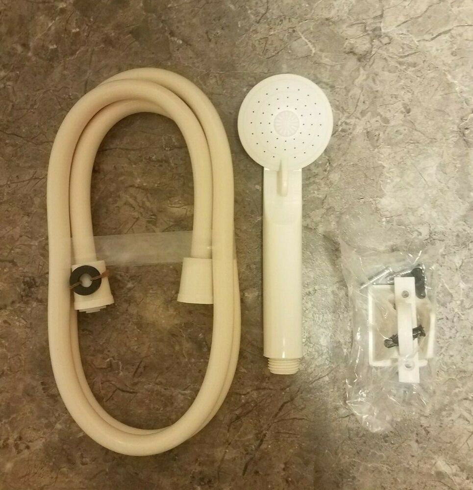 New Tan Rv Camper Marine Home 60 Quot Shower Hose And Head Kit