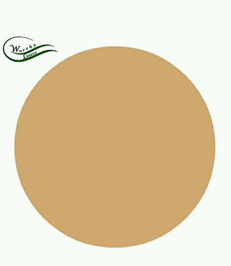Natural Parchment Paper Pan Liner Round Circles 35 Pack