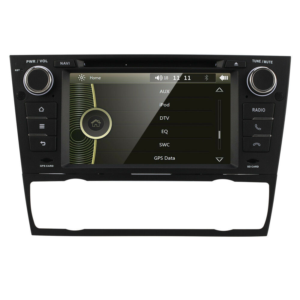 bmw 3series e90 e91 car cd dvd player gps navigation in. Black Bedroom Furniture Sets. Home Design Ideas