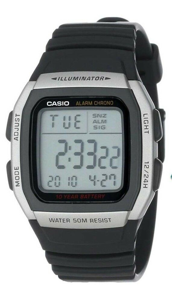 how to change casio calculator watch battery