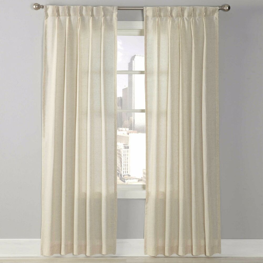 Splendor 108 Inch Grommet Glide Pinch Pleat Sheer Window