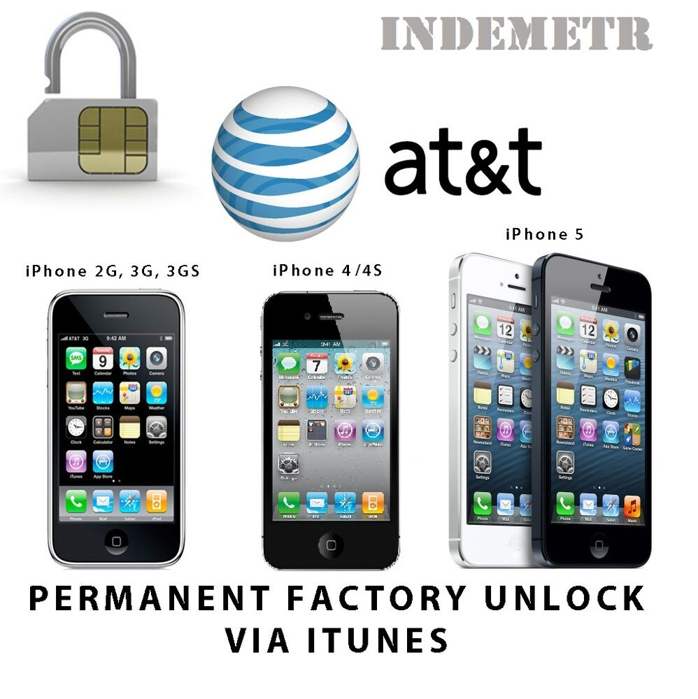 unlock iphone 4 at t at amp t factory unlock code service iphone 3 4 4s 5 5s 5c se 7796