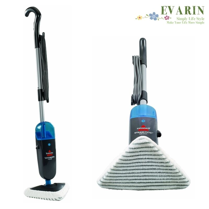 steamer mop floor hard wood tile carpet rug steam cleaner sanitize machine pet ebay. Black Bedroom Furniture Sets. Home Design Ideas