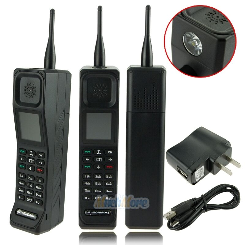 Brand new classic old vintage brick cell phone retro for Billige retro mobel