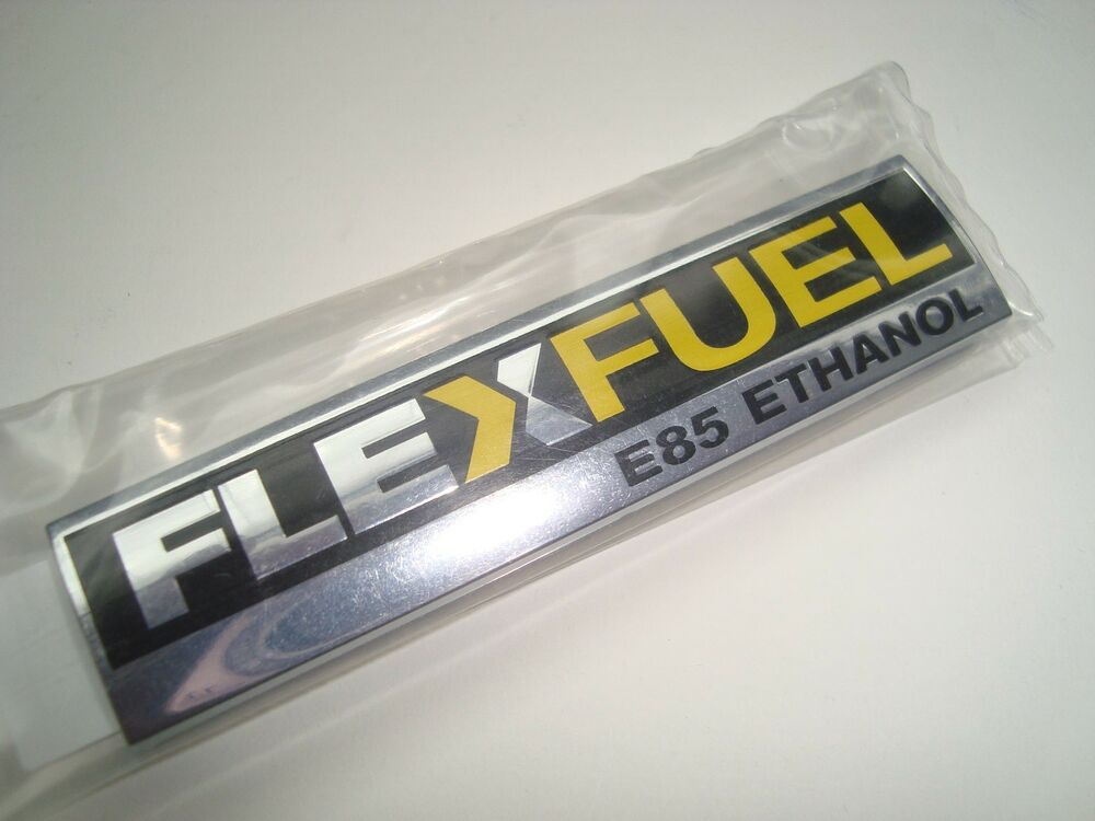 oem flex fuel emblem logo impala monte carlo ethanol e85 corvette gm 15910899 ebay. Black Bedroom Furniture Sets. Home Design Ideas