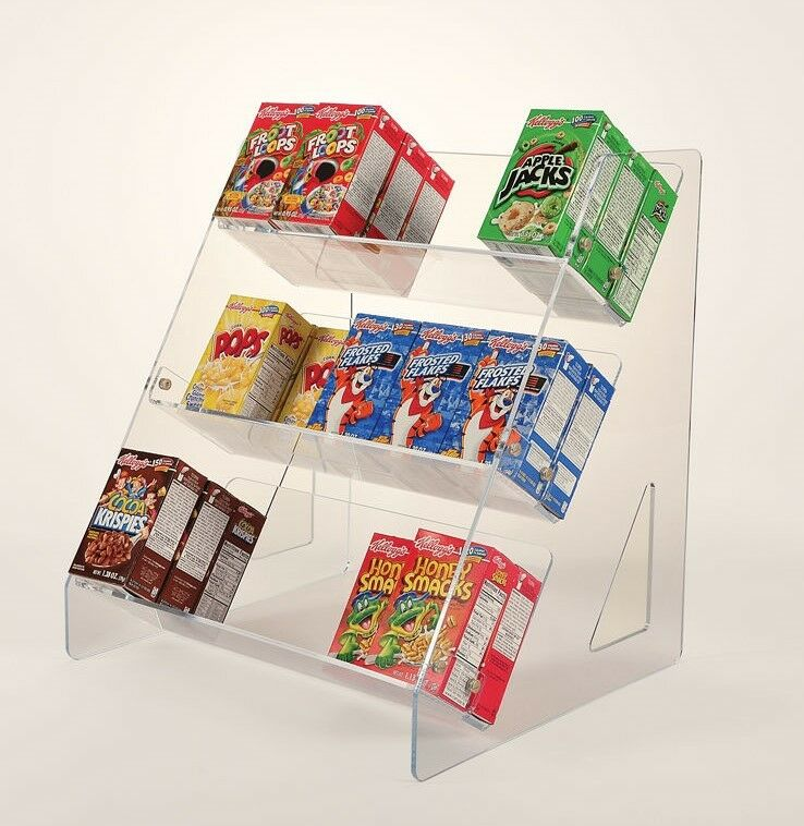 Box Rack For Breakfast Cereal Cereal Box Display Stand