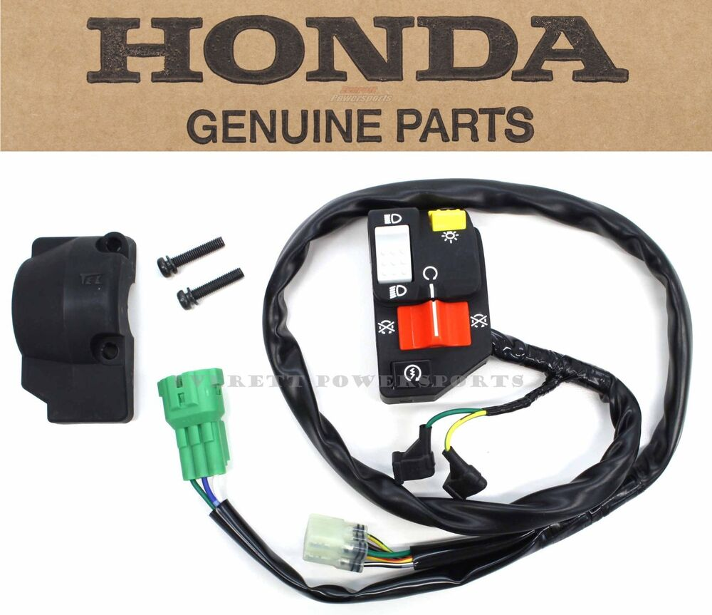 honda trx400ex starter wiring honda accord starter wiring diagram new genuine honda left switch assembly lighting & starter ...