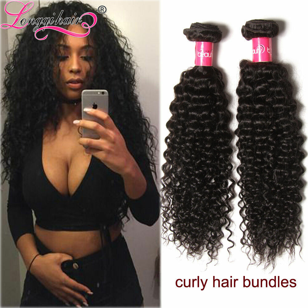 Malaysian Curly Hair Bundles 100g 300g Wet And Wavy