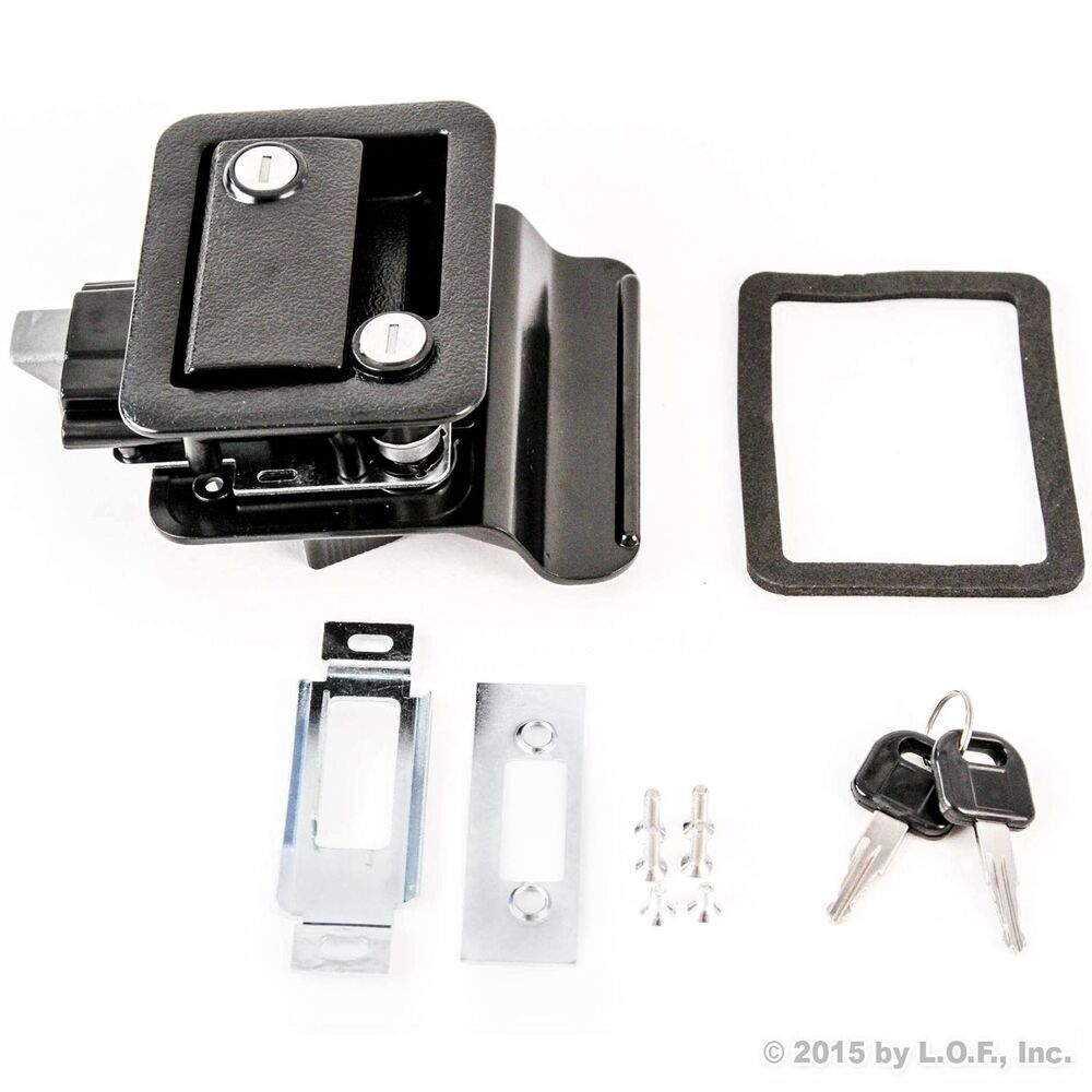 Unique Screen Door Latch LH Or RH Handle Kit  RV Camper Motorhome Travel