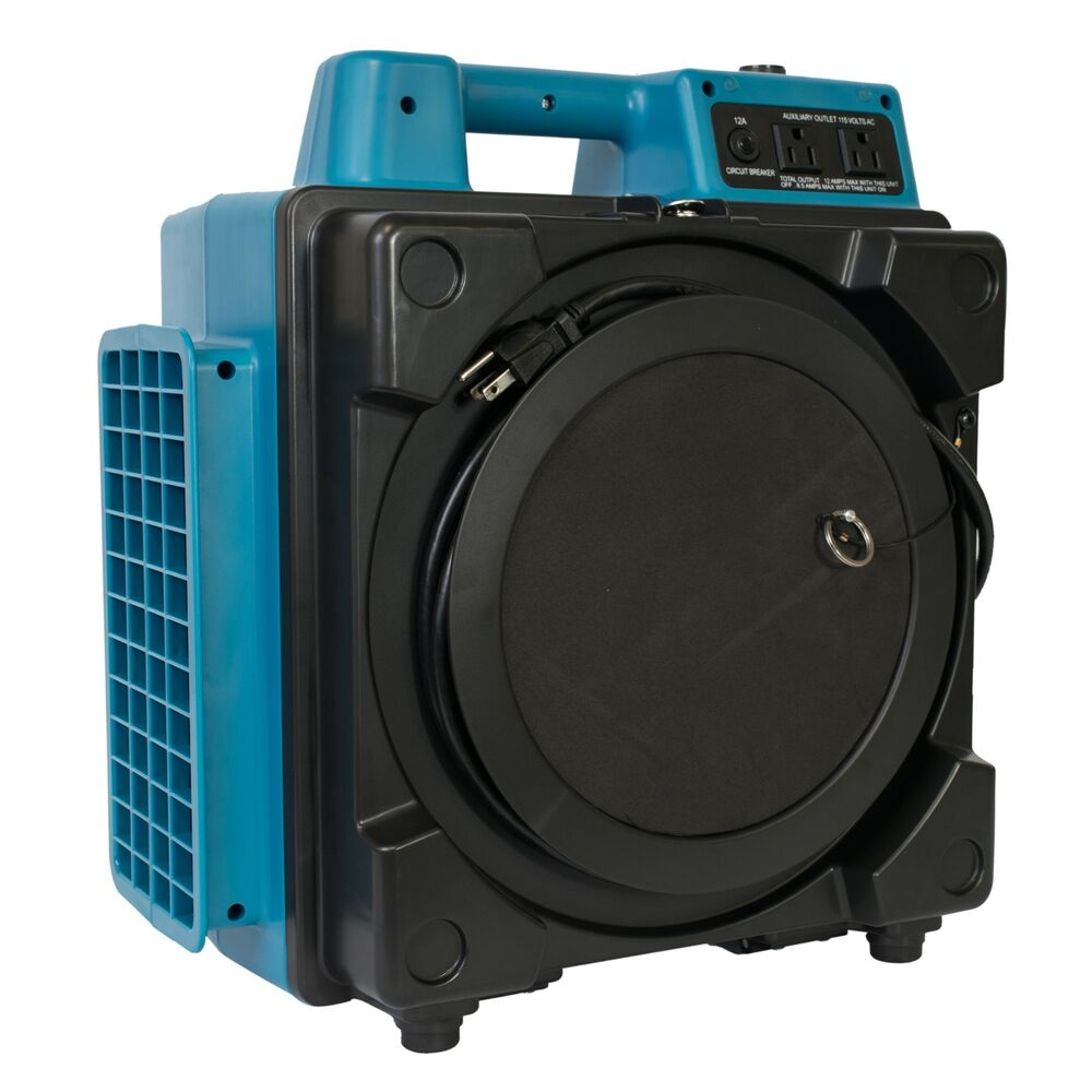 Hepa Air Scrubber : Xpower a professional stage filtration hepa
