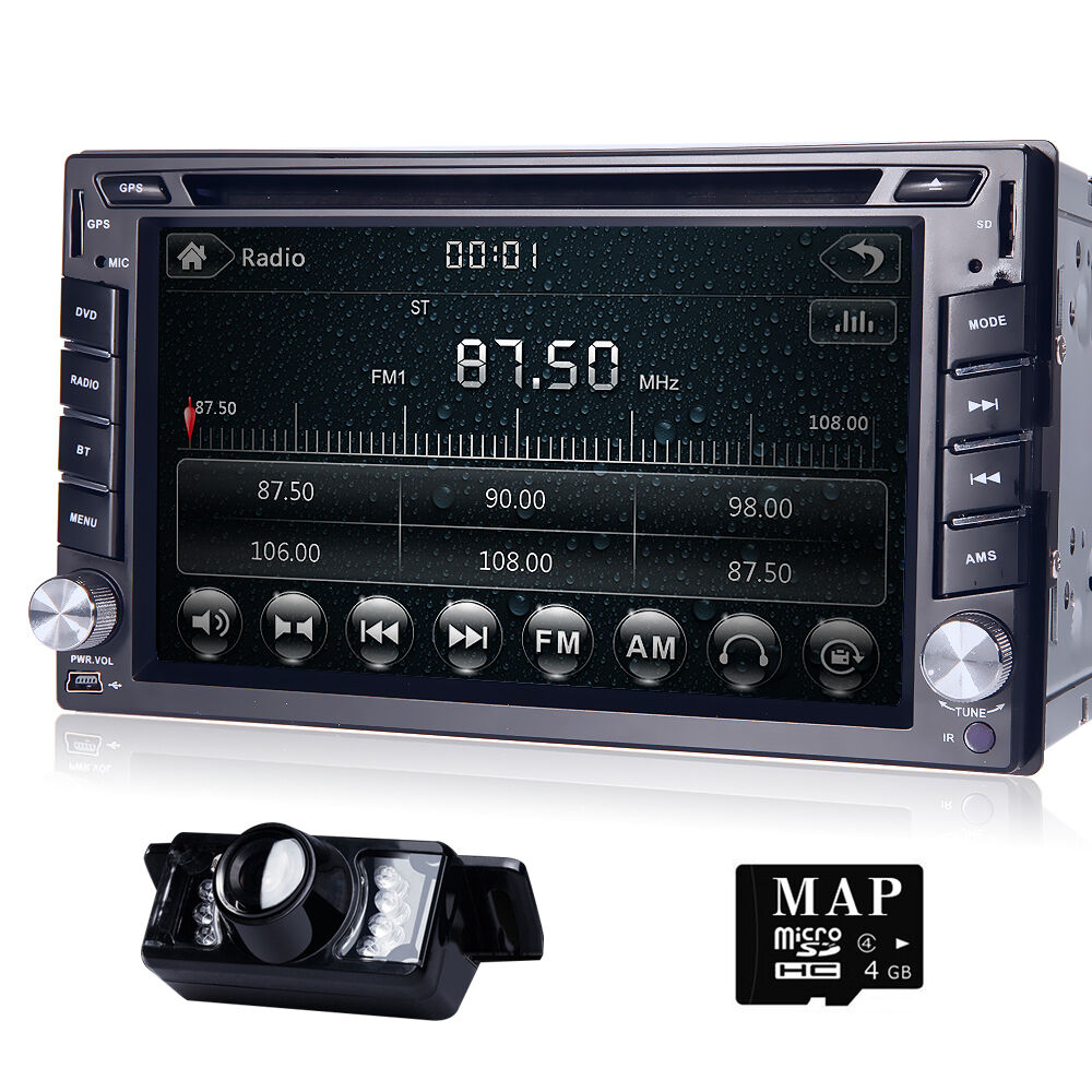 double 2din touch gps navi car dvd player bluetooth. Black Bedroom Furniture Sets. Home Design Ideas