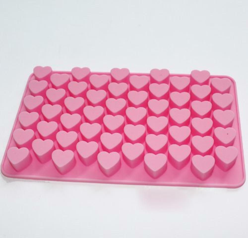 Cake Art Candy Molds : X-Haibei Mini Heart Small Silicone Mold for Soap ...