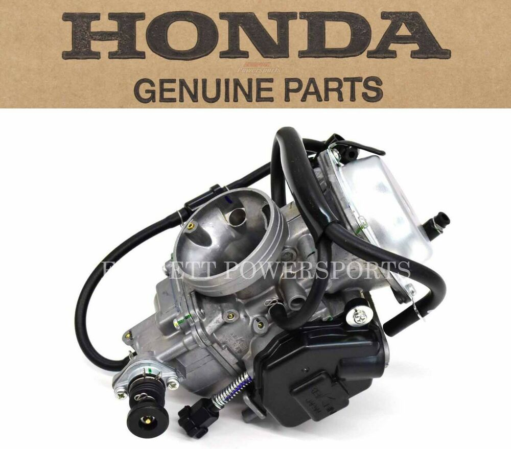 New Genuine Honda Carburetor Assembly 01