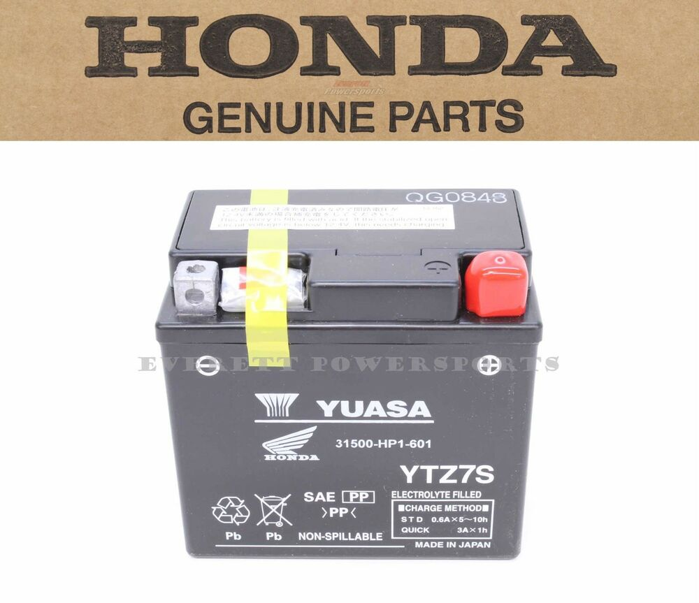 New YTZ7S Battery Genuine Honda Fits All Brands Suzuki