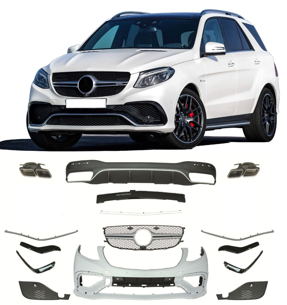 Mercedes benz gle 63 body kit w166 ebay for Mercedes benz amg kit